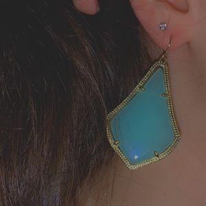 Kendra Scott mint/ seafoam earrings.
